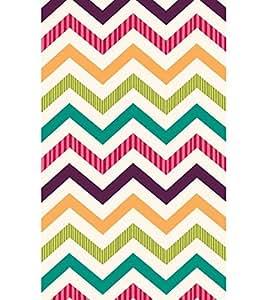 Zig Zag Colourful Pattern Hard Polycarbonate Designer Back Case Cover for YU Yureka :: YU Yureka AO5510
