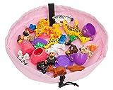 51%2BhQlJ8ULL. SL160  Agooding Portable Toy Storage Bag, Pink UK best buy Review