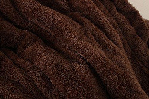 Youngii la fourrure long manteau chaud capuchon extérieur de la tenue de lhiver parka veste mince collier manteaux Bleu ciel