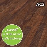 Pavimento in Laminato Noce Astoria Confezione Da 2.47 Mq | AC3