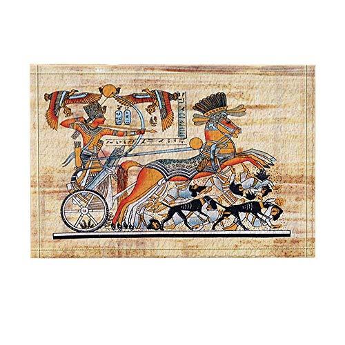Kwboo Alte Ägyptische Kulturdekoration. Die Alten Ägyptischen Krieger, Gekleidet In Kostümen, Rahmen Das Bogenschießen Und Das Bogenschießen. (Alten ägyptischen Kostüm)