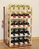 Weinregal für 20 Flaschen