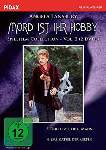 Mord ist ihr Hobby - Spielfilm Collection, Vol. 2 / Weitere zwei spannende Spielfilme mit Angela Lansbury in ihrer Paraderolle (Pidax Serien-Klassiker) [2 DVDs]