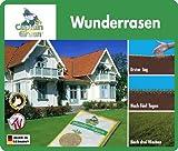 Captain Green GHZ Wunder-Rasen, Schnellwuchsrasen, Turborasen, 2kg (2 x 1kg)