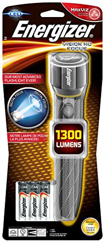 Energizer 7638900419597 6AA incl LED Taschenlampe Vision HD Metal 6 AA Hd-metal