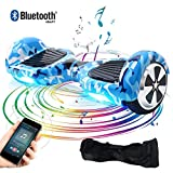 BEBK Hoverboard 6.5' Smart Self Balance Scooter con Bluetooth, Overboard con LED...