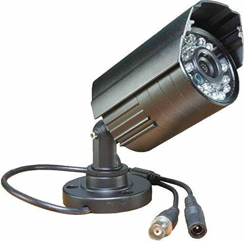 Boomlens-Infrarot Sicherheitskamera 1000TVL Analog CCTV Kamera Tag/Nachtsicht 24 LEDs Bullet Outdoor Kamera für Zuhause Überwachung