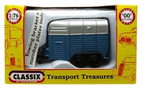 Preisvergleich Produktbild CLASSIX 1/76 Schlauch-Box Mid Blau / Silber (Japan-Import)