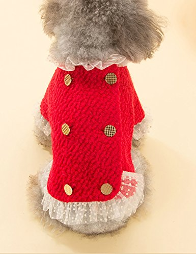 DDI Dog Clothes petits chiens automne et d'hiver Vêtements Vêtements pour animaux domestiques charmant ( taille : M )
