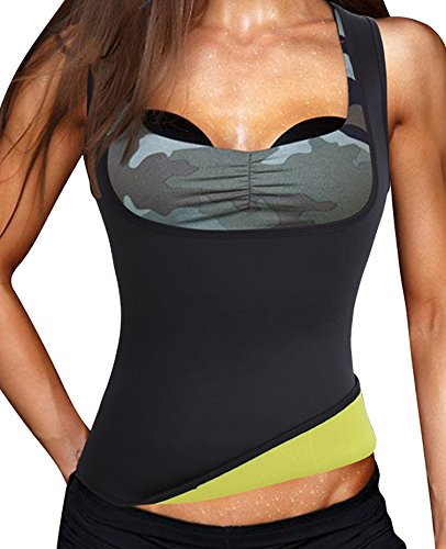 sport-neoprene-waist-trainer-cincher-tummy-control-vest-bodysuit-weight-lossl-fit-uk-16-18-blackno-z