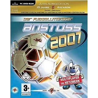 Anstoss 2007: Der Fußballmanager (inkl. Anstoss 2 Gold/Anstoss 3/Anstoss Action/Anstoss 4 Edition 03/04) [PC DVD]