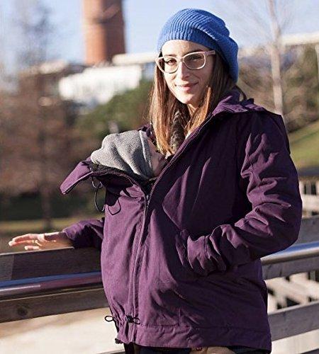 Abrigo de porteo Momawo 4 en 1, Purple Talla L