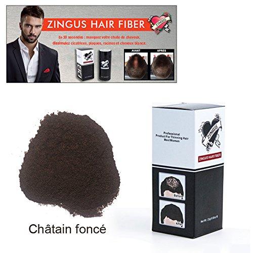Hair Fiber Chatain Foncé 23 Grs