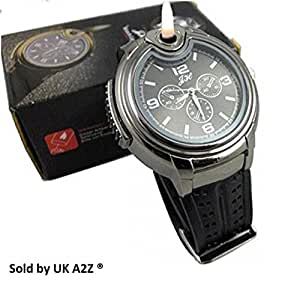 Mens Stylish Novelty Watch with Built in Refilliable
