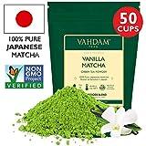 VAHDAM, tè verde alla vaniglia matcha | Polvere di tè matcha 100% di origine giapponese | ANTI-OSSIDANTI 137x | Tè verde per perdita di peso e disintossicazione quotidiana | SUPER FOOD del Giappone