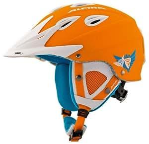ALPINA Erwachsene Skihelm Grap Cross Orange orange 54-57 Inch