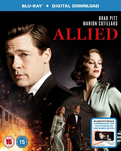 Bild von Allied (Blu-ray + Digital Download) [2016] UK-Import, Sprache-Englisch