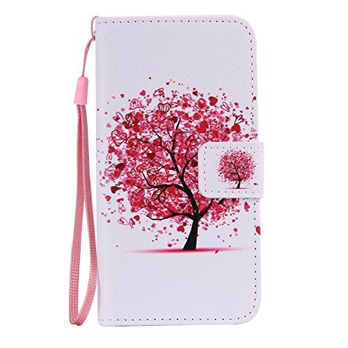 Schutzhülle für Apple iPhone 5s 5 case Wallet Leder Schale Tasche Magnet PU Hülle Handy Silikon Back Cover Etui Skin Shell Purse Portemonnaie Geldbörse(Standfunktion,Kreditkartenfach,Stylus,folie,Reinigungstuch) (Ipod Touch 5 Zerolemon)