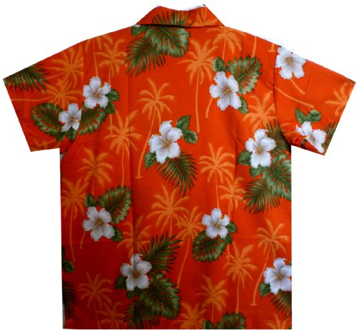 Funky Hawaiihemd XS-6XL Orange
