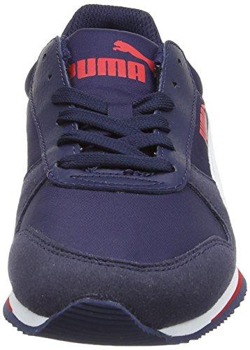 Puma Fieldsprint Nl, Baskets Da Unisexe Adulto Bianco (caban / Blanc / Rouge À Haut Risque)