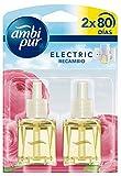 Ambi Pur Flores Elegantes Recambio Para Ambientador Eléctrico - Pack de 2x21,5ml