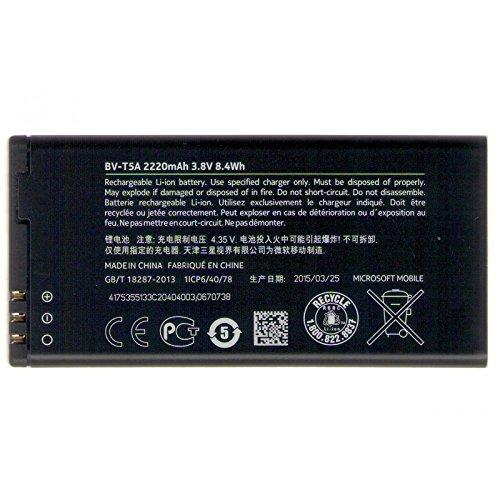 Akku Microsoft Original BV-T5A Lumia 730 Dual Sim, Lumia 735 Li-ion 1560mAh - Lumia 640 XL Dual Sim