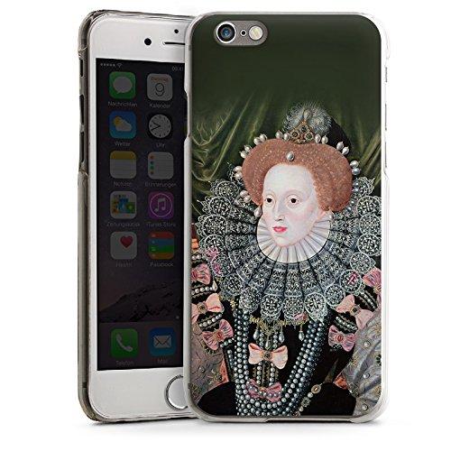 Apple iPhone 5 Housse Étui Silicone Coque Protection Elisabeth I Angleterre Reine CasDur transparent