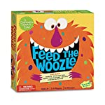 Feed the Woozle: A Game of Silly Snacks and Mixed-up Moves! Chocolate-covered flies and hairy pickles? Yummy! The big?mouth Woozle is hungry. Can you feed him 12 silly snacks from the spoon before all the snacks are gone? Play together work together ...