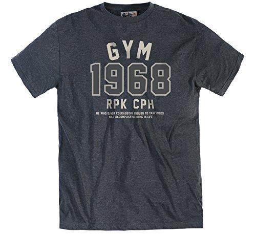 Allsize -  T-shirt - Uomo Antracite XXXXXXL