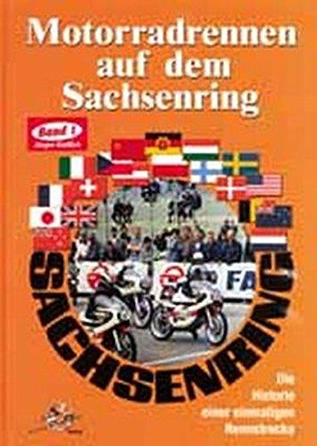 Motorradrennen auf dem Sachsenring (Livre en allemand)