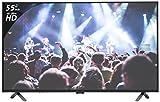 Onida 139.7 cm (55 inches) K Y Rock 55UIR 4K UHD LED Smart TV (Black)