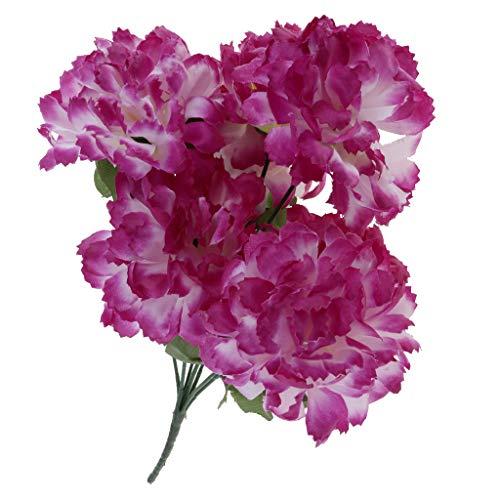 Baoblaze Kunstblumen Blumenstrauß Grabgesteck Grabschmuck für Totensonntag Allerheiligen und Trauerfeier, aus Seiden