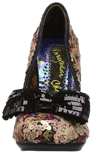Irregular Choice 4337-1C, Scarpe con Tacco Donna Multicolore (Navy Multi)