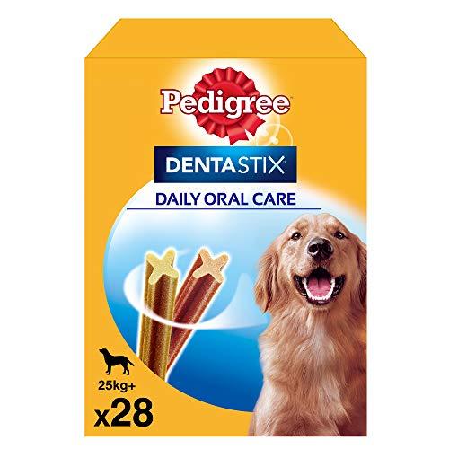 Pack 28 Dentastix uso diario higiene oral perros grandes