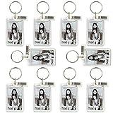 WEBAFI 20 Stück Acryl-Foto-Schlüsselanhänger / zweiseitig / Werbegeschenk
