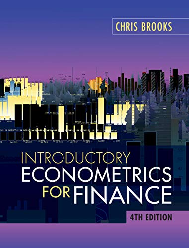 Introductory Econometrics for Finance por Chris Brooks