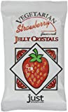 Just Wholefoods Jelly Crystals Strawberry 85 g (Pack of 12)