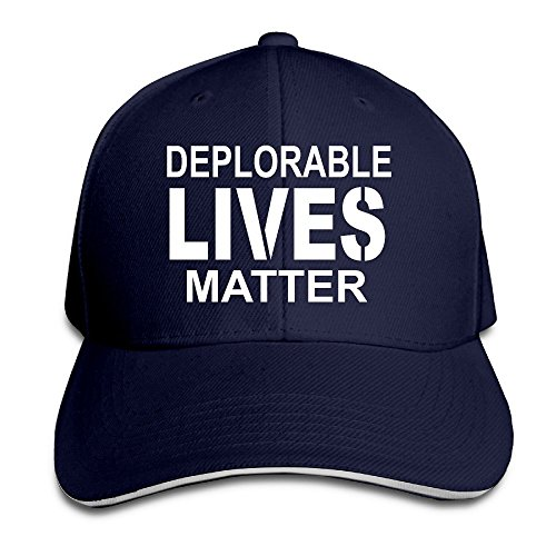 Doormat-bag Deplorable Lives Matter Trump Proud 2016 Election Adjustable Snapback Hat