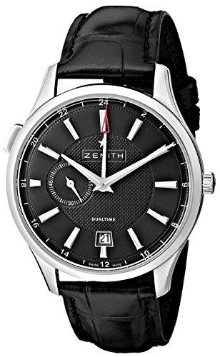 Zenith 03.2130.682/22.C493 - Orologio da polso, colore: nero