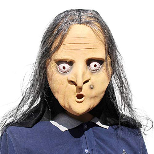 Beängstigend Hexe Maske - AIYA Halloween Party Bar Party Horror