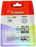 Canon PG-510+CL-511 Cartucho Multipack de tinta