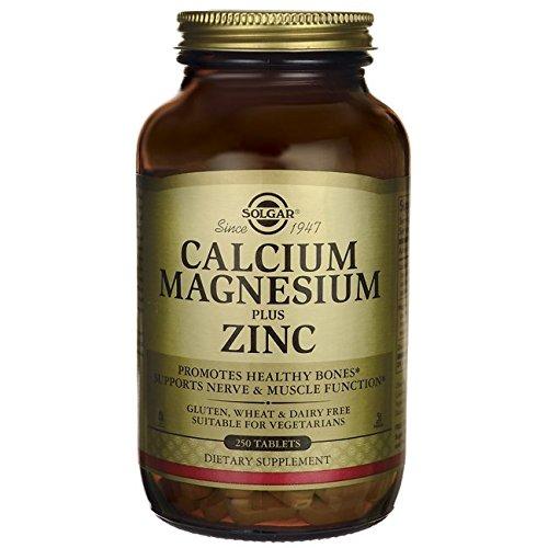 Solgar Calcio y Magnesio con Zinc Comprimidos - Envase de 250