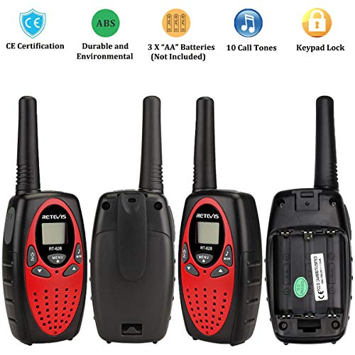 Zoom IMG-2 retevis rt628 walkie talkie bambini