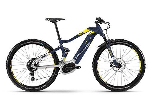 Haibike SDURO FullNine 7.0 E-Bike 500Wh E-Mountainbike blau/silber/citron matt