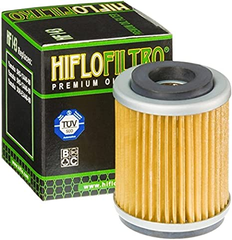 3x oil filter MBK XC 125 T Flame 95-00 Hiflo HF143