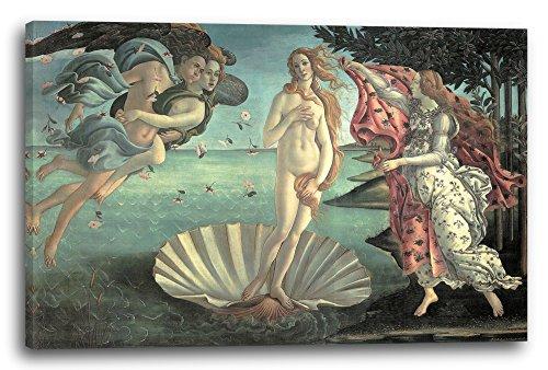 Printed Paintings Leinwand (120x80cm): Sandro Boticelli - Die Geburt der Venus