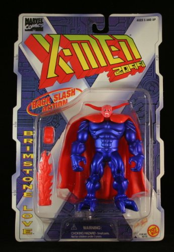 BRIMSTONE LOVE with Back Slash Action X-MEN 2099 Marvel Comics Action Figure by Toy Biz