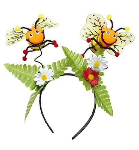 ers Flowers Leaves Children's Headband Adult Fancy Dress ()