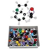 Hztyyier Kit Modello molecolare 267 Pezzi, Set di Modelli di Struttura Organica e Organica per Insegnante di Studenti, con Guida di Istruzioni