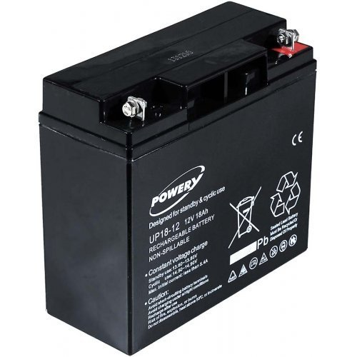 Premium Powery Blei-Gel-Akku für USV APC Smart-UPS 1500, Lead-Acid, 12V Smart Ups 1500 Batterie